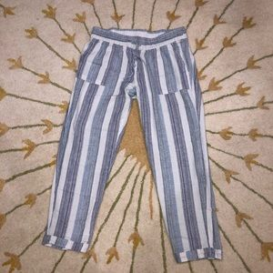 "Old Navy Striped ""Beachy"" Pants"